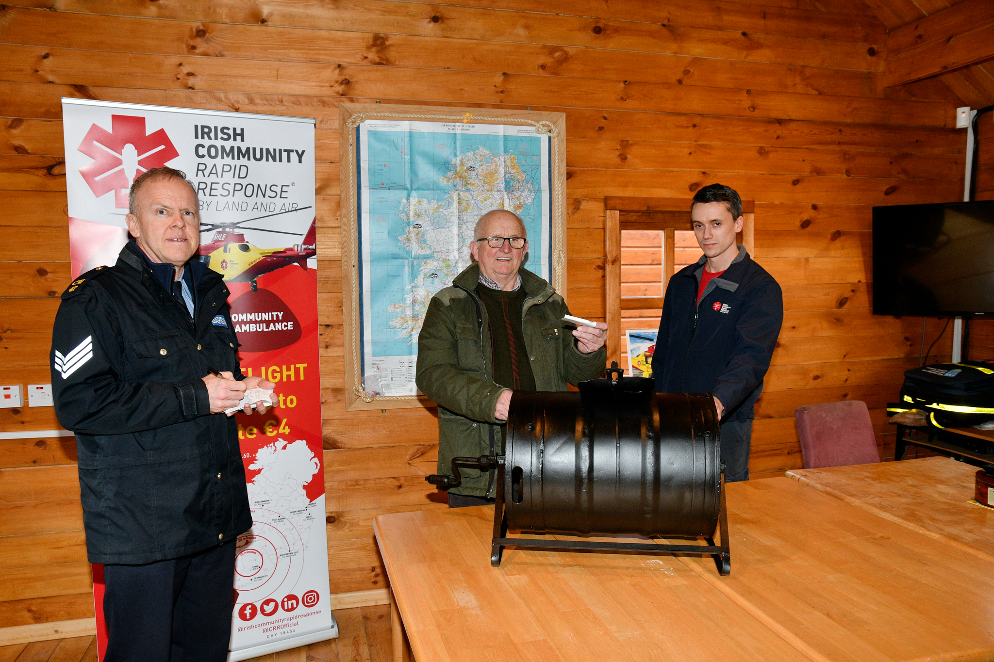 ICRR Air Ambulance Urgent Appeal Raffle Results